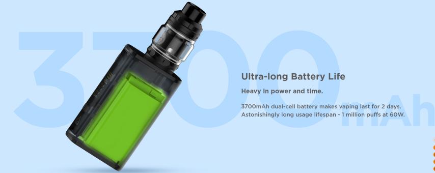 Geekvape OBELISK 120 FC Kit Battery